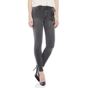 Philosophy Charcoal Star beaded stretch Jeans